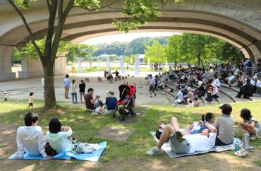 公園だからの楽しみ方があります。